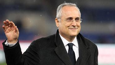 Владелец «Лацио» должен в30-дневный срок продать клуб-новичок серии А