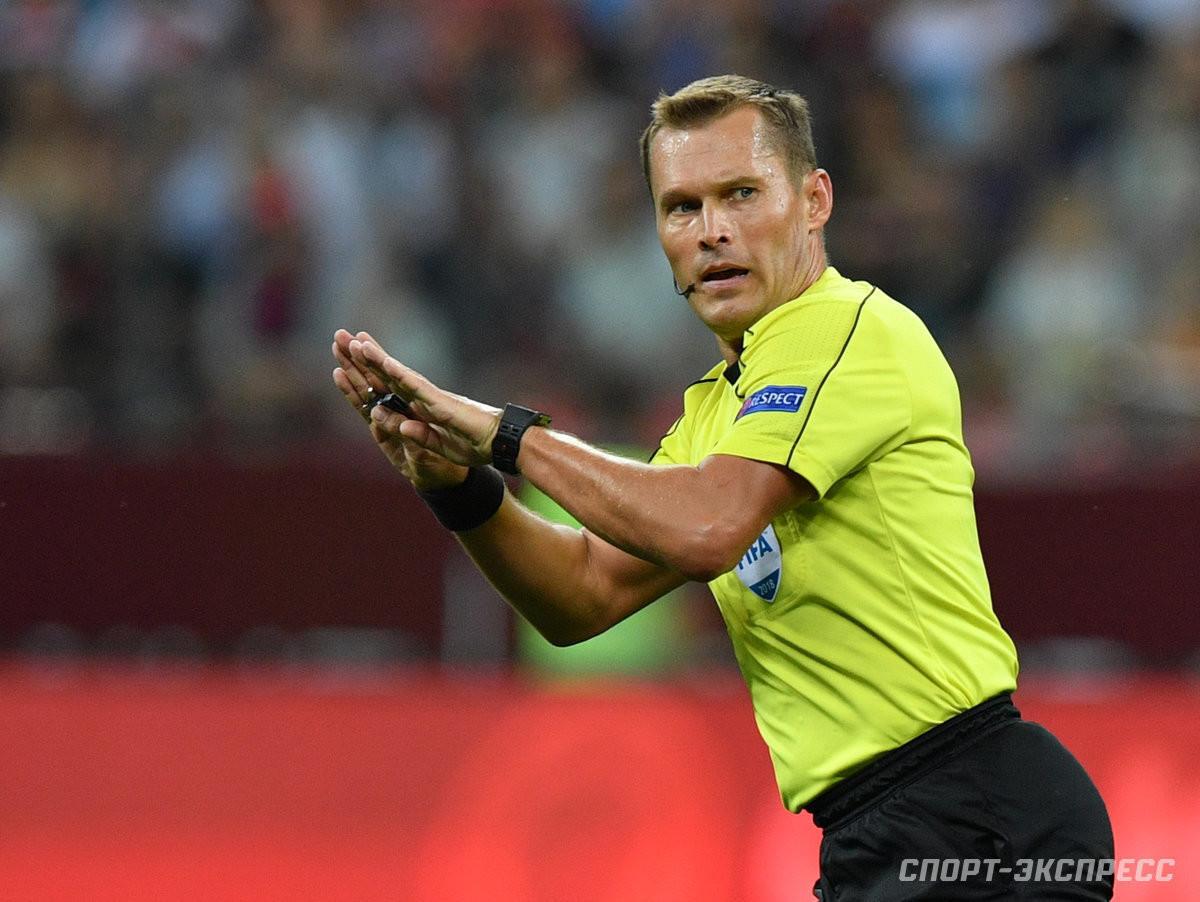 Безбородов иЛевников могут судить матчи сборной России наЕвро. УЕФА ввел особые правила
