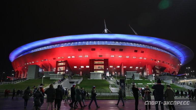 """Газпром-Арена"". Фото Александр Федоров, «СЭ» / Canon EOS-1D X Mark II"