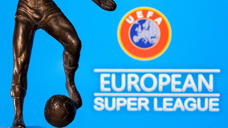 УЕФА против Суперлиги. Фото Reuters