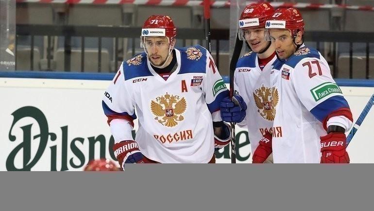 Сборная России сыграет против команды Финляндии. Фото ФХР
