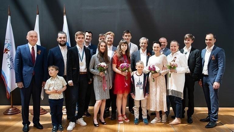 Сочи. Церемония награждения юниоров итренеров сборной России. Фото Этери Кублашвили