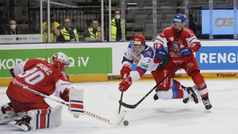 15мая. Чехия— Россия— 4:0. Фото Reuters