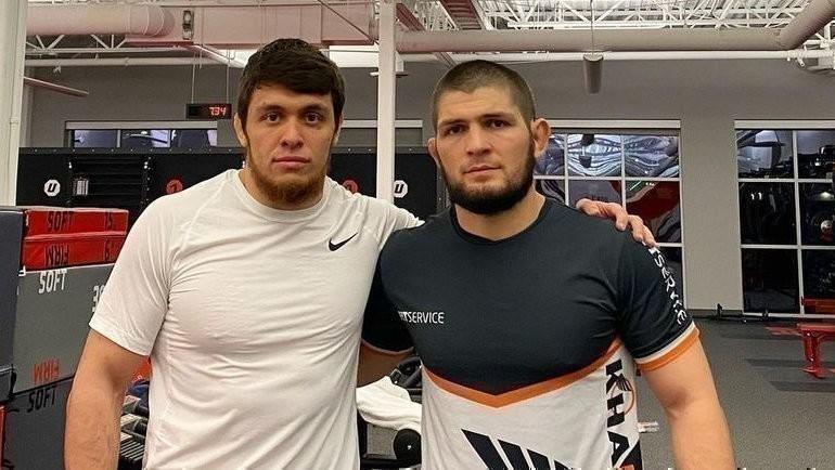 Мурад Рамазанов (слева) иХабиб Нурмагомедов. Фото Instagram