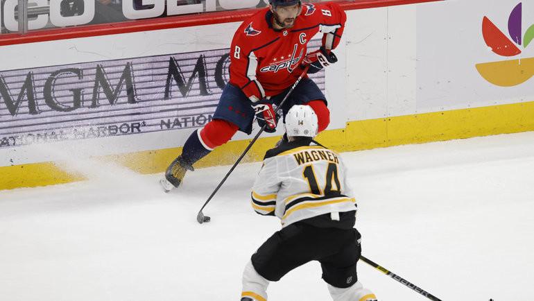 «Вашингтон» vs «Бостон»: вигре Александр Овечкин. Фото USA Today Sports