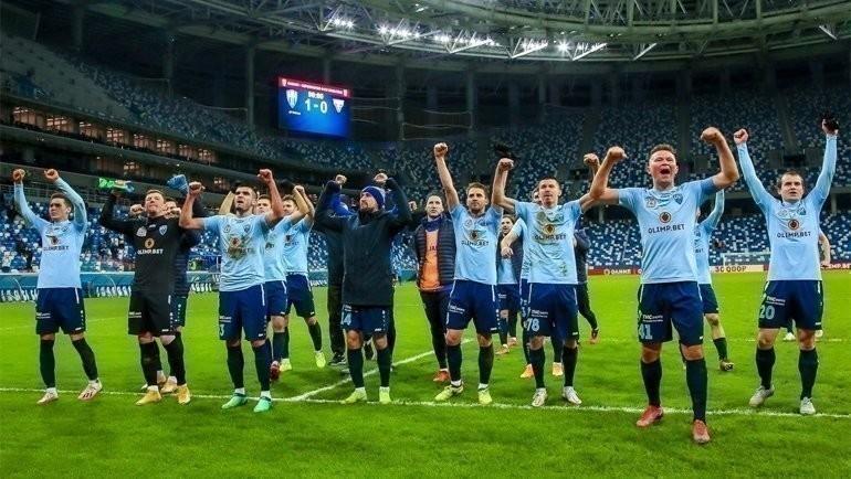 Футболисты «Нижнего Новгорода». Фото ФК «Нижний Новгород»