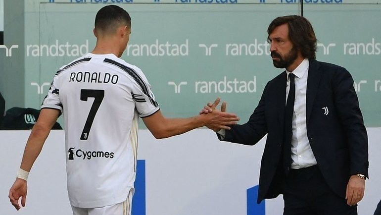 Пирло обыграл «Интер» вдесятером изаменив Роналду. Безумный матч оставил «Ювентус» вгонке заЛигой чемпионов