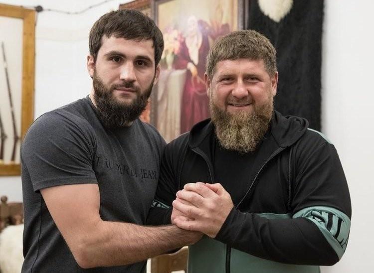 Абубакар Вагаев и Рамзан Кадыров. Фото Instagram