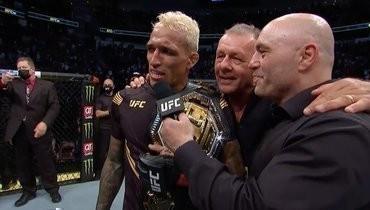 Оливейра нокаутировал Чендлера истал чемпионом UFC влегком весе