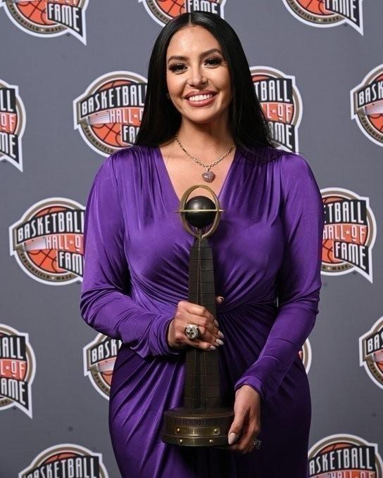Ванесса Брайант. Фото NBA.