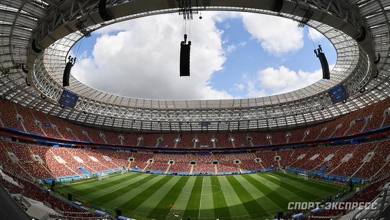 В «Лужниках» будет играть нетолько сборная? Фото Александр Федоров, «СЭ»