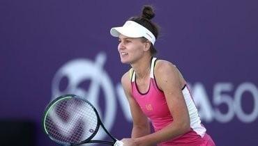 Кудерметова опустилась на29-е место врейтинге WTA