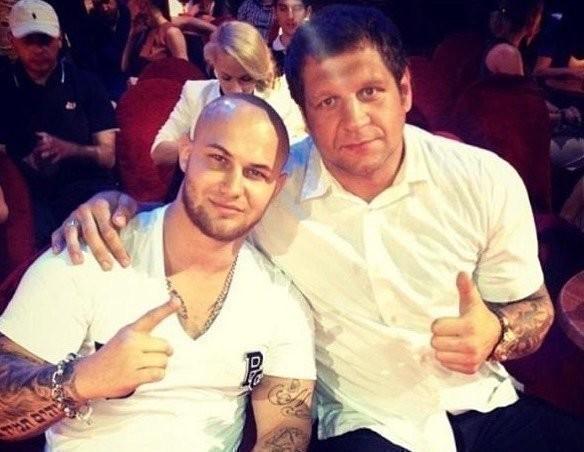 Джиган иАлександр Емельяненко. Фото Instagram
