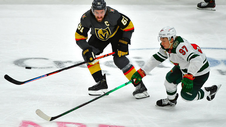 Кирилл Капризов (справа). Фото USA Today Sports