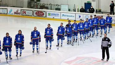 Хоккеисты сборной Италии.