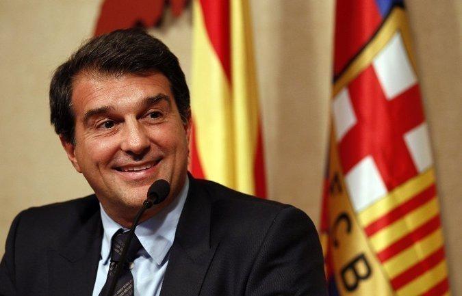 Жоан Лапорта. Фото Reuters