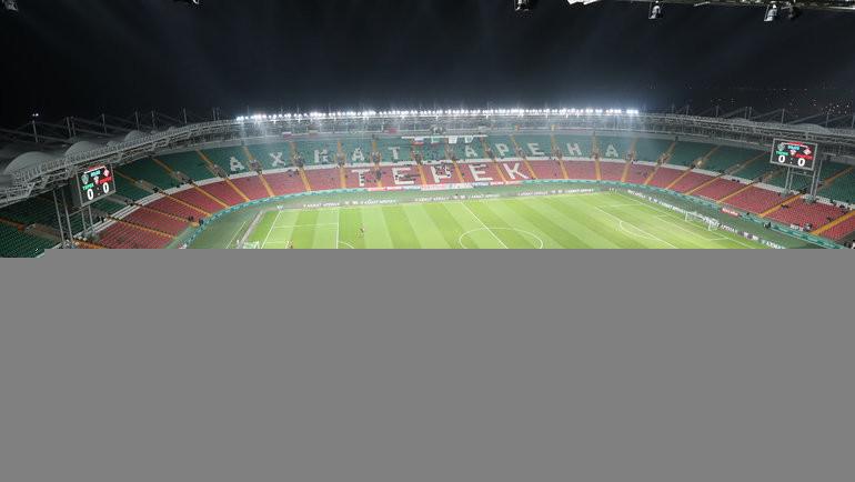 Стадион «Ахмат Арена». Фото Александр Ступников, ФК «Спартак»