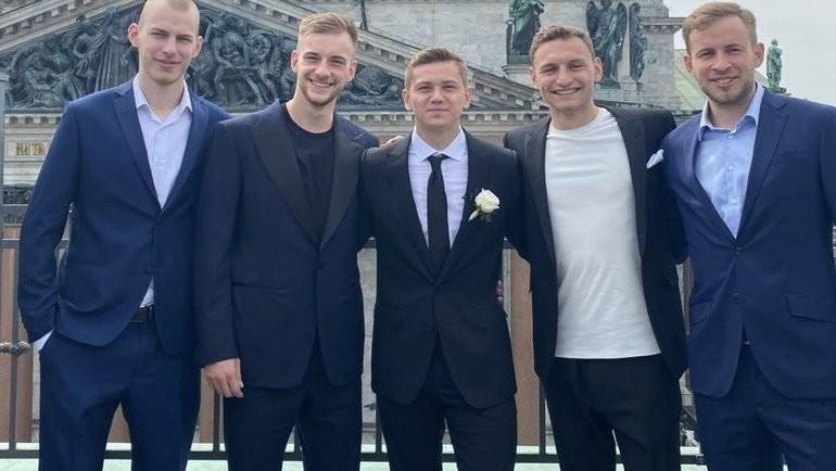 Иван Обляков отметил свадьбу вСанкт-Петербурге. Фото Instagram