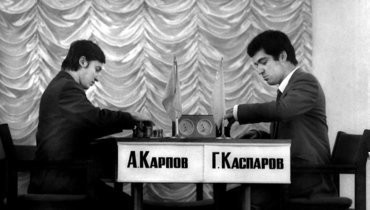 Анатолий Карпов иГарри Каспаров.