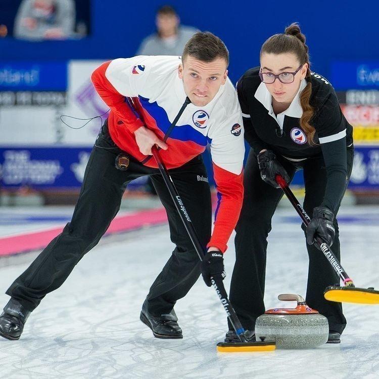 Александр Еремин и Анастасия Москалева. Фото worldcurling.org