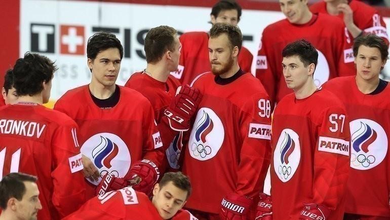 Хоккеисты сборной России. Фото ФХР, fhr.ru