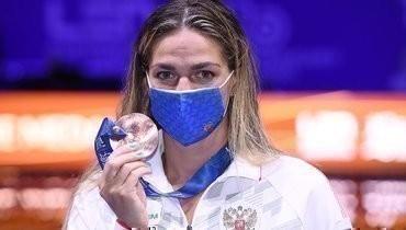 21мая. Будапешт. Юлия Ефимова сбронзовой медалью.