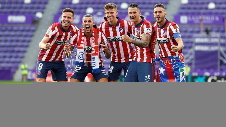 Футболисты «Атлетико». Фото Reuters