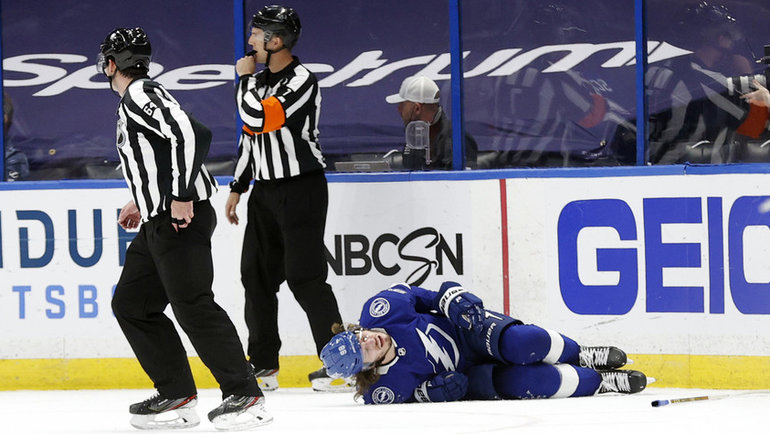 Травма Михаила Сергачева. Фото USA Today Sports