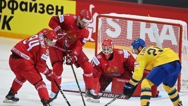 23мая. Рига. Швеция— Белоруссия— 0:1. Фото AFP