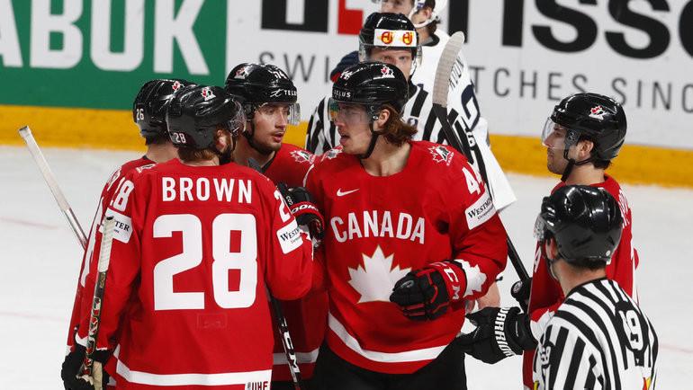 Канадцы награни провала! Незабивали больше 100 минут иполучили разнос отамериканцев