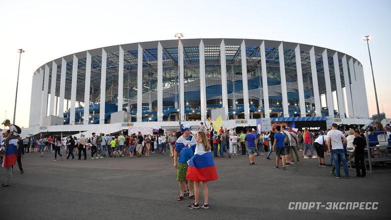 Стадион «Нижний Новгород». Фото Дарья Исаева., «СЭ» / Canon EOS-1D X Mark II