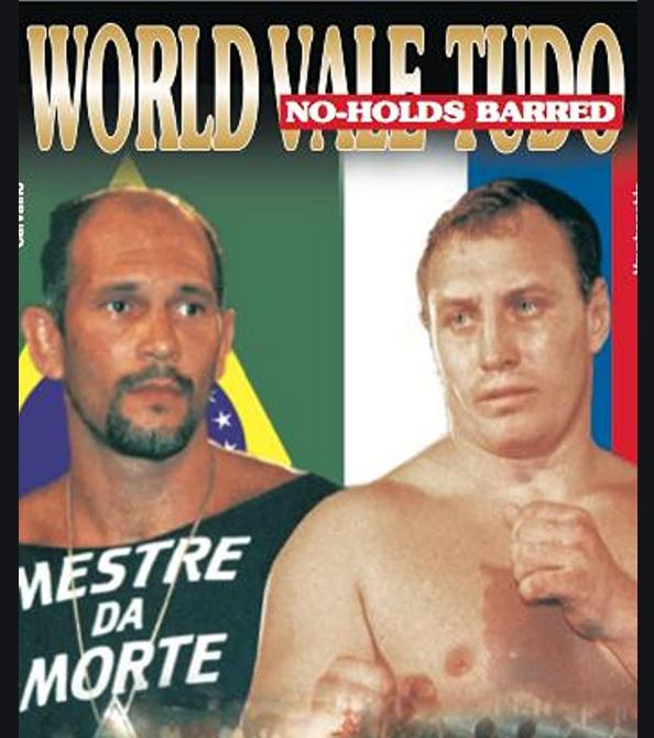 Афиша турнира World Valetudo Championship 7 (1999 год).