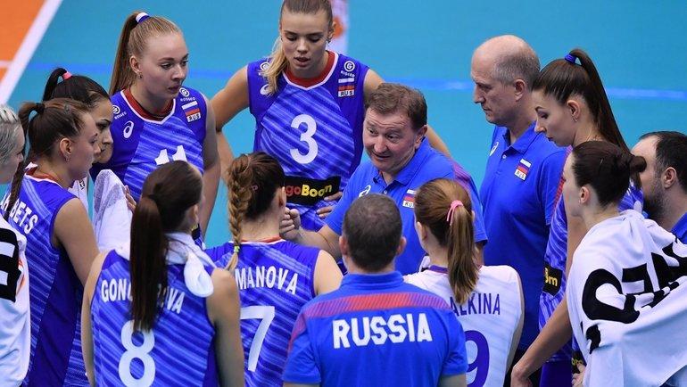 Женская сборная России поволейболу. Фото vk.com/rusvolleyteam