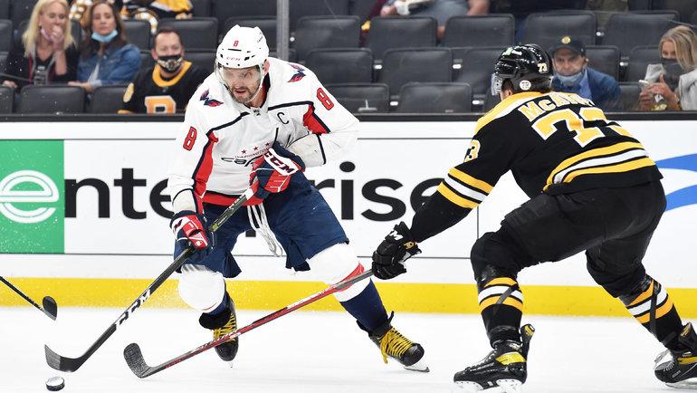 Александр Овечкин (слева). Фото USA Today Sports