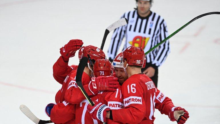 26мая. Рига. Россия— Дания— 3:0. Фото AFP