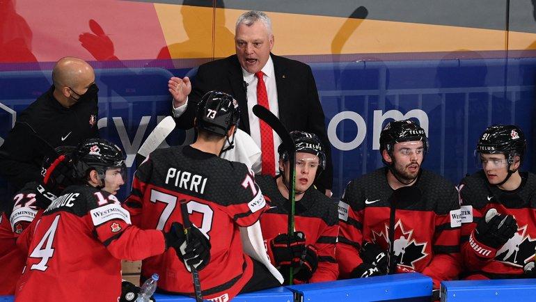 Сборная Канады одержала только одну победу вчетырех матчах ЧМ-2021. Фото AFP