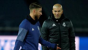Рамос отреагировал науход Зидана из «Реала», назвав его единственным инеповторимым