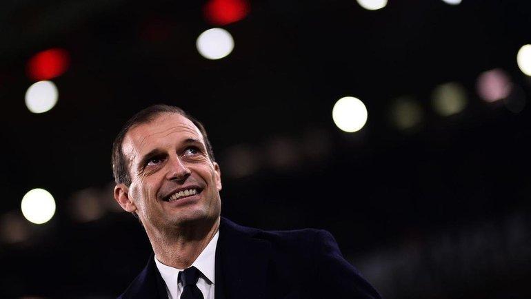 Массимилиано Аллегри. Фото AFP