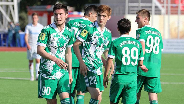 Футболисты «Ахмата». Фото ФК «Ахмат»