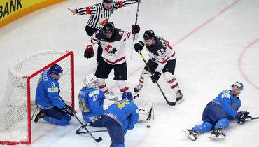 28мая. Рига. Казахстан— Канада— 2:4. «Кленовые листья» упустили преимущество в2 шайбы, носмогли победить.