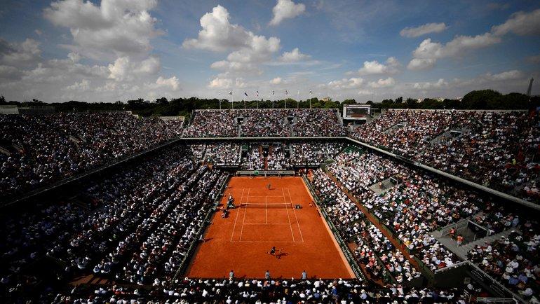 «Ролан Гаррос». Фото AFP