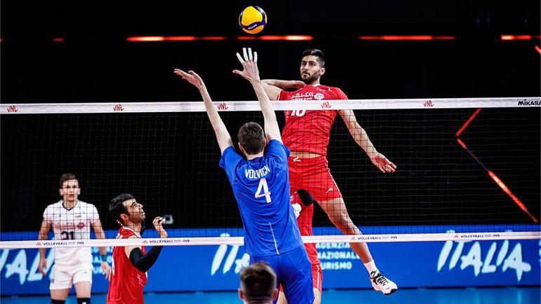 Иран — Россия — 1:3.
