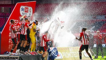 «Брентфорд» впервые с1947 года сыграет ввысшем дивизионе чемпионата Англии