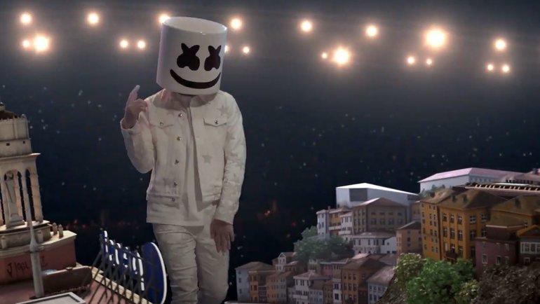 Marshmello. Фото Youtube-канал «Pepsi Global»