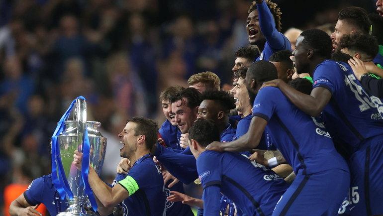 29мая. Порту. «Манчестер Сити»— «Челси»— 0:1. Кубок— усиних. Фото Reuters