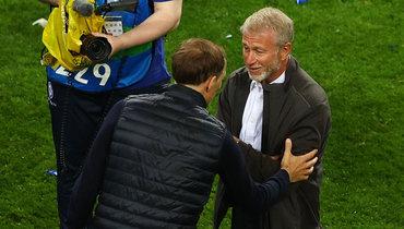 Абрамович впервые встретился сТухелем, празднование «Челси» игрусть «Ман Сити»