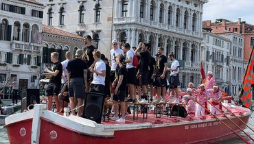 «Венеция» ярко отпраздновала выход всерию А