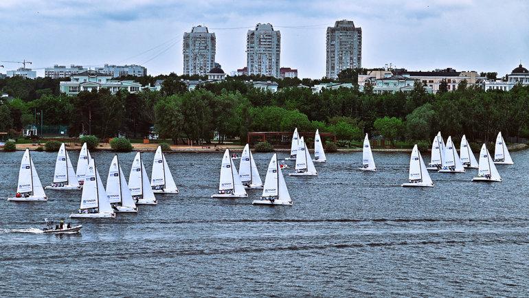В 2021 году Tenzor Cup by PROyachting получил статус Кубка России в классе J/70. Фото Валерия Исаенко