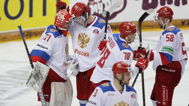Хоккеисты сборной России. Фото Reuters