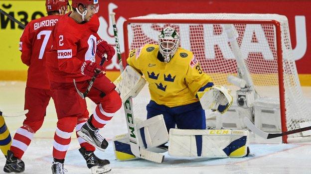 31мая. Россия— Швеция. Фото AFP